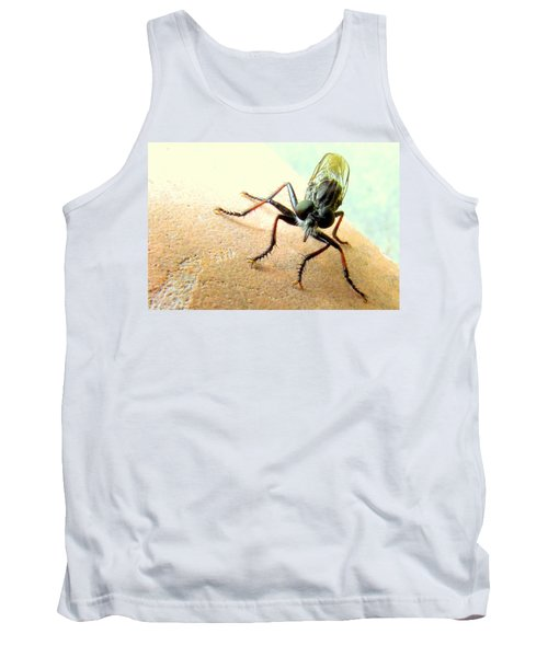 Bearded Robber Fly Tank Top