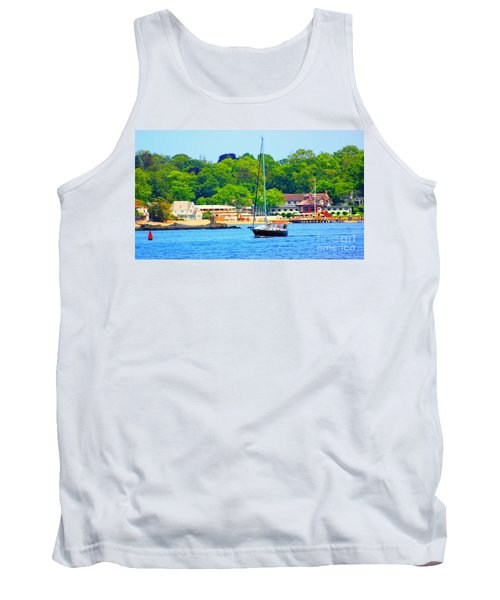 Beautiful Day For Sailing Tank Top
