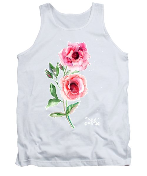 Beautiful Roses Flowers Tank Top
