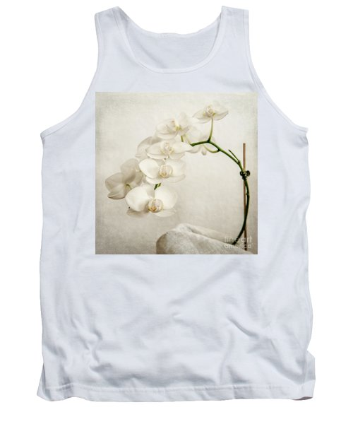 Beautiful White Orchid II Tank Top