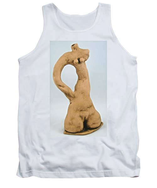 Beauty Must Pose For Us Tank Top by Mario Perron