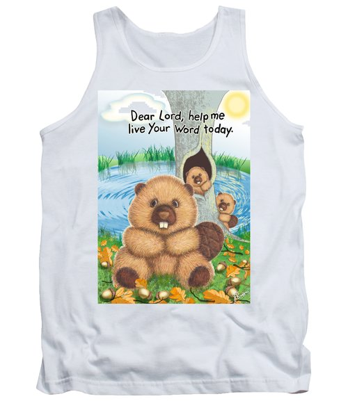 Beaver Tank Top by Jerry Ruffin