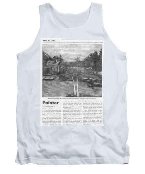 Beaver Pond - Article - Mary Krupa Tank Top