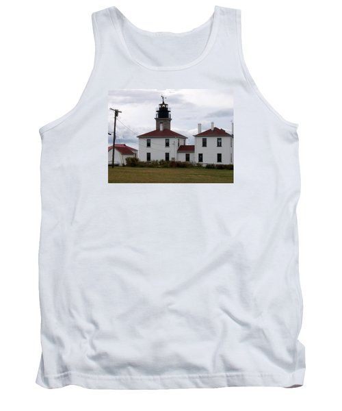 Beavertail Lighthouse Tank Top by Catherine Gagne