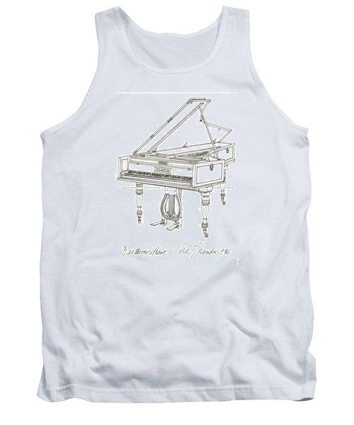 Beethoven's Broadwood Grand  Piano Tank Top