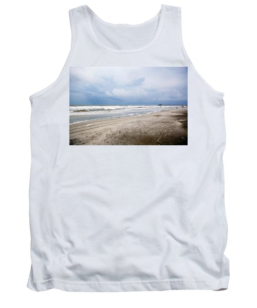 Tank Top featuring the photograph Before The Storm by Sennie Pierson