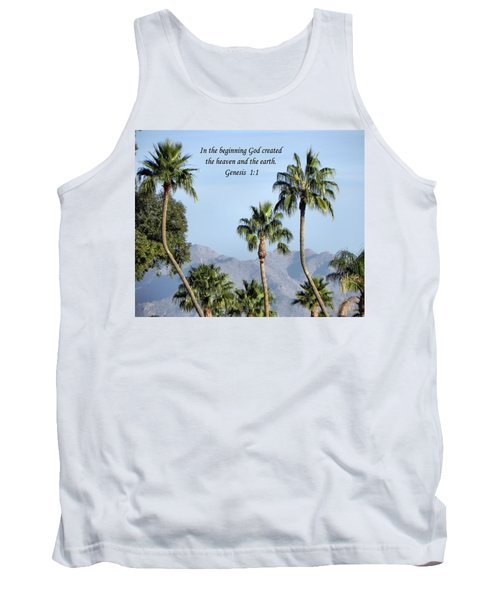 Tank Top featuring the photograph Beginning by Deb Halloran