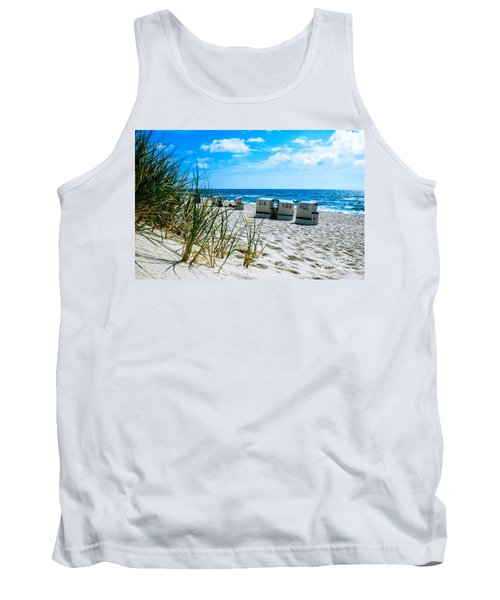 Behind The Dunes -light Tank Top by Hannes Cmarits