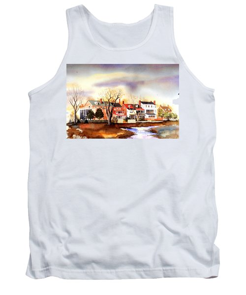 Behind The Strand In New Castle Tank Top