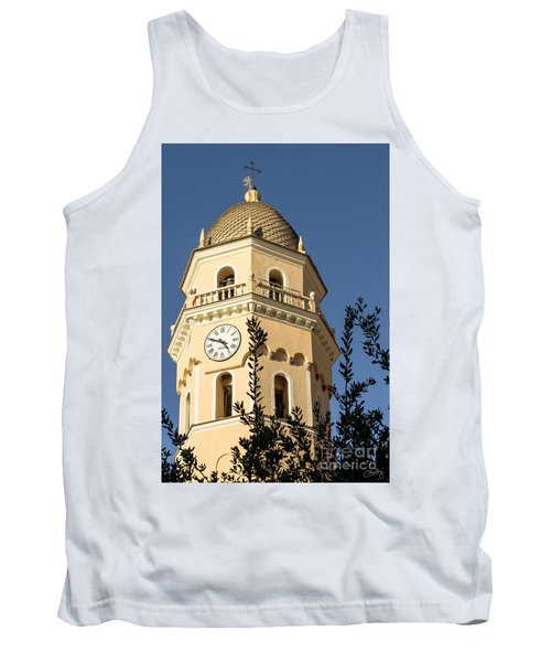 Bell Tower Of Vernazza Tank Top