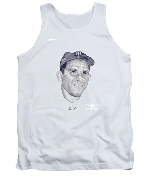Tank Top featuring the painting Berra by Tamir Barkan