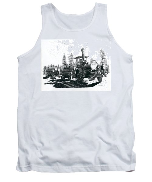 Best Steam Traction Engine Tank Top