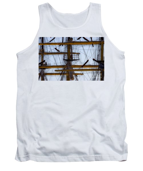 Between Masts And Ropes Tank Top
