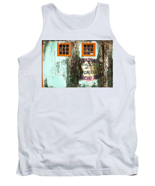 Between Time Marks Limited Edition 1 Of 1 Tank Top