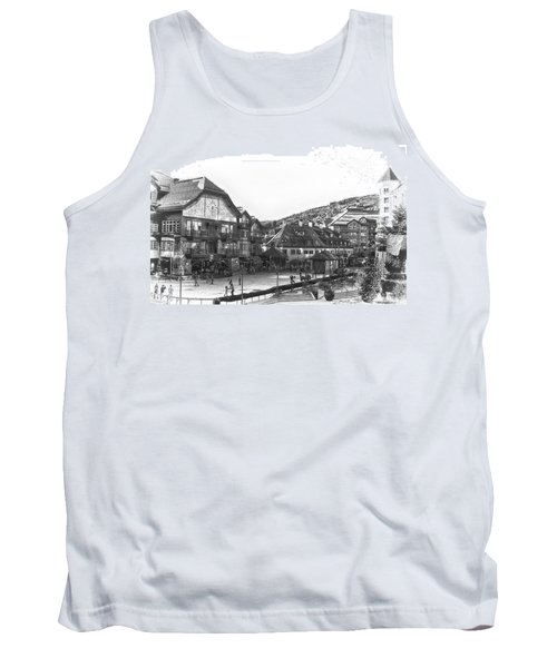 Bever Creek Skating Rink Tank Top