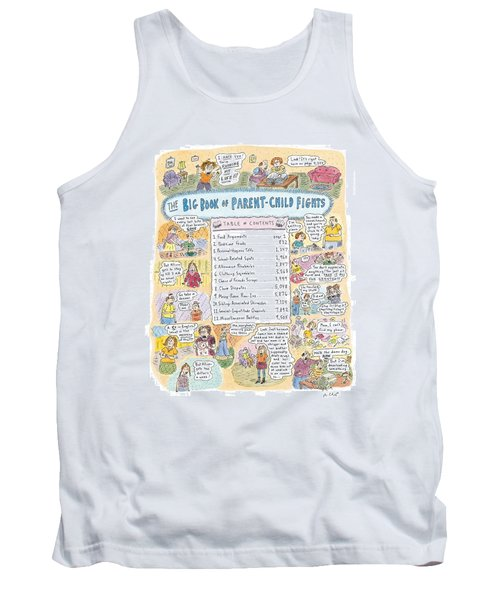 'big Book Of Parent-child Fights' Tank Top