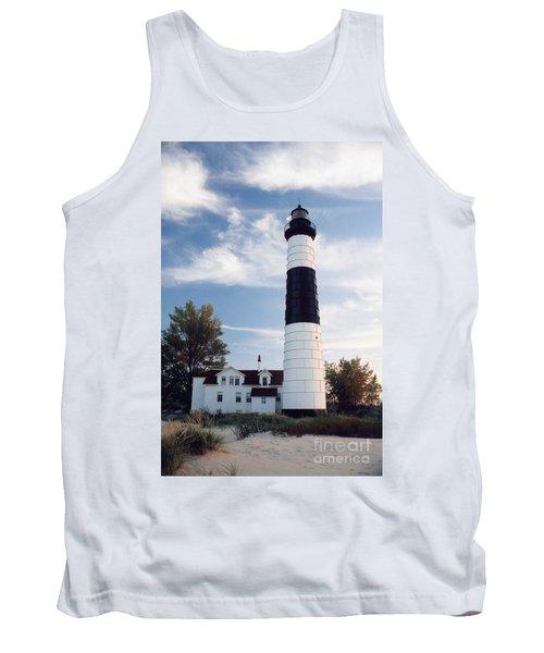 Big Sable Lighthouse Tank Top