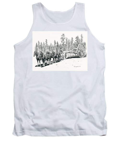 Big Wheels Tank Top