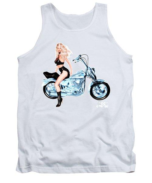 Biker Girl Tank Top