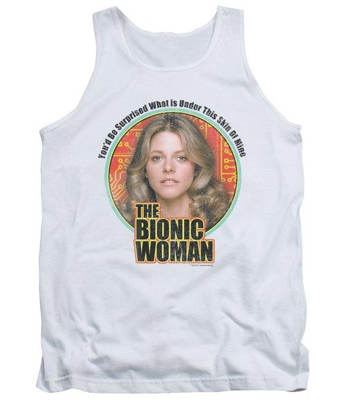 Bionic Woman - Under My Skin Tank Top