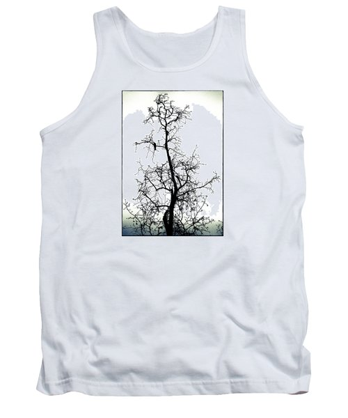 Tank Top featuring the photograph Bird In The Branches by Caitlyn  Grasso