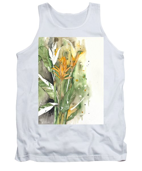 Bird Of Paradise 08 Elena Yakubovich  Tank Top