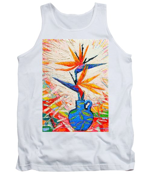 Bird Of Paradise Flowers Tank Top