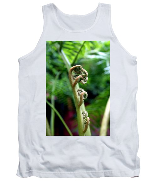 Birth Of A Fern Tank Top