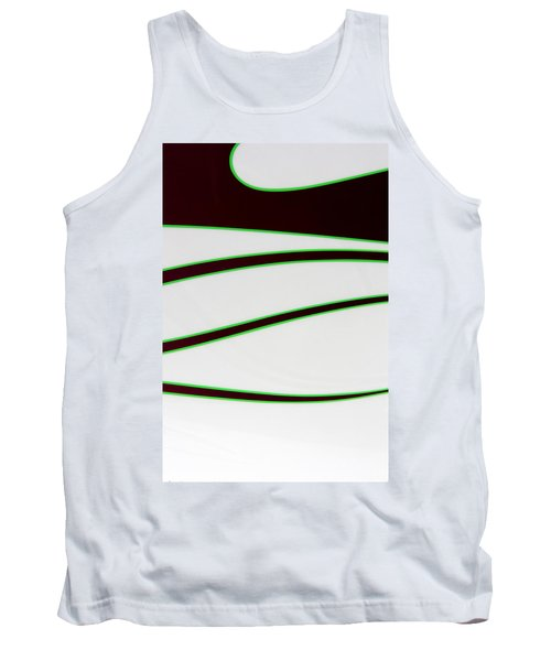 Tank Top featuring the photograph Black And Green by Joe Kozlowski