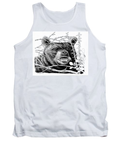 Black Bear Boar Tank Top