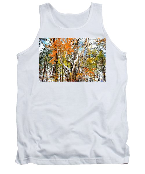Tank Top featuring the photograph Black Hills Entanglement by Clarice  Lakota