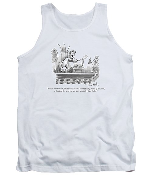 Blessed Are The Meek Tank Top