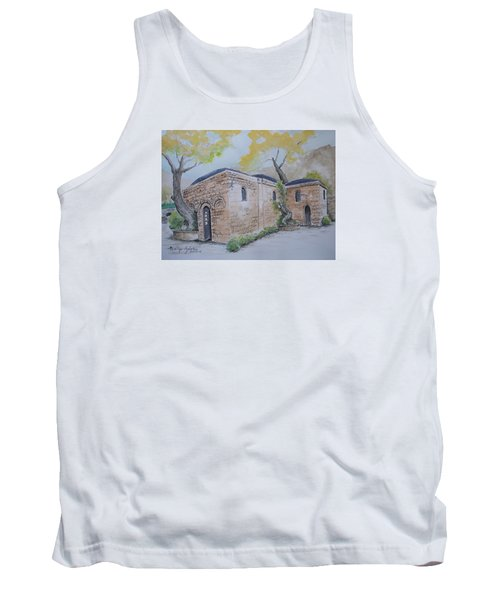 Tank Top featuring the painting Blessed Mother's Home by Marilyn Zalatan