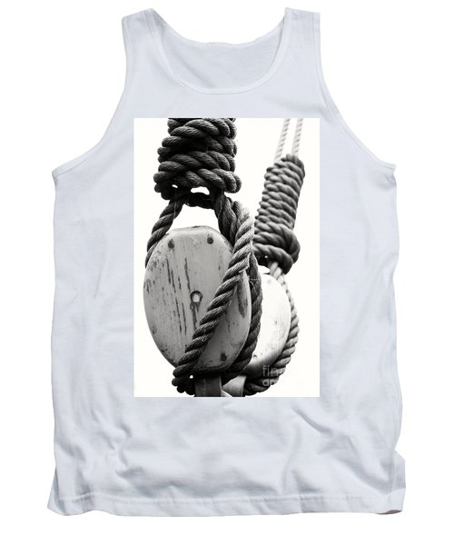 Block And Tackle Of Old Sailing Ship Tank Top