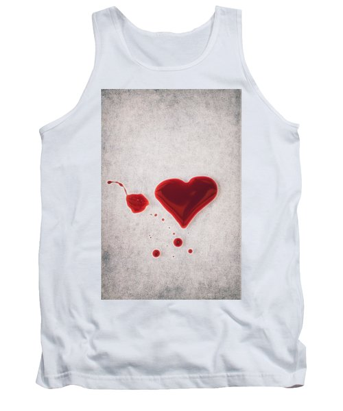 Bloody Heart Tank Top