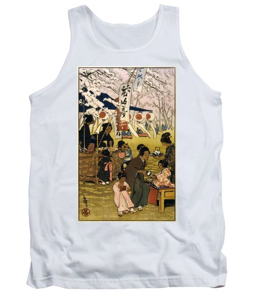 Blossom Time In Tokyo Tank Top