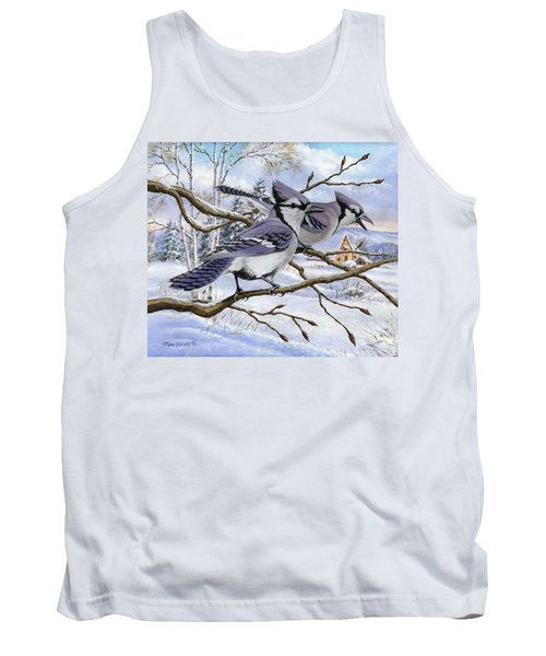 Blue Bandits Winter Afternoon Tank Top