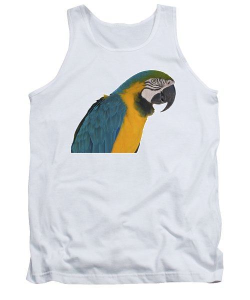 Blue Gold Macaw Tank Top