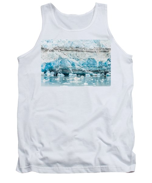 Blue Ice Tank Top by Melinda Ledsome