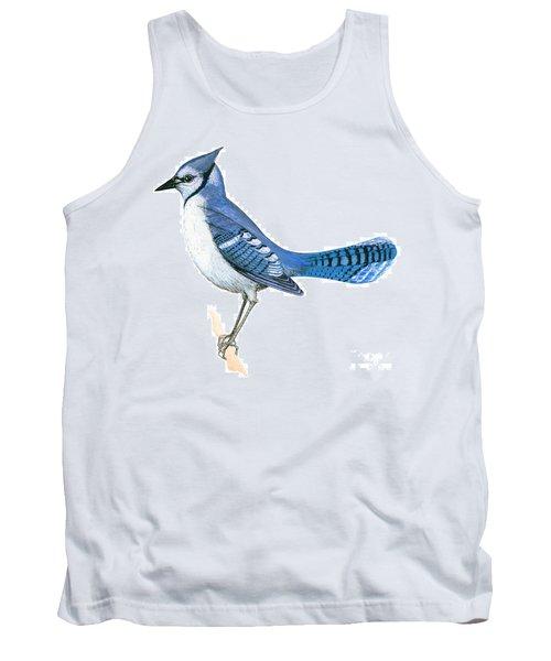Blue Jay  Tank Top