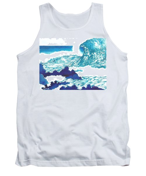 Blue Roar Tank Top