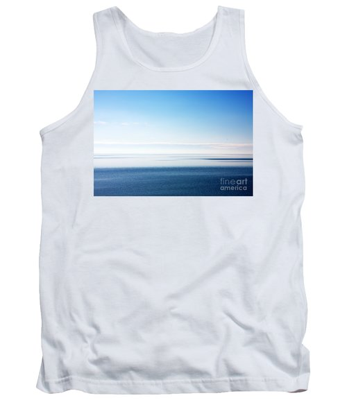 Blue Sea Scene Tank Top