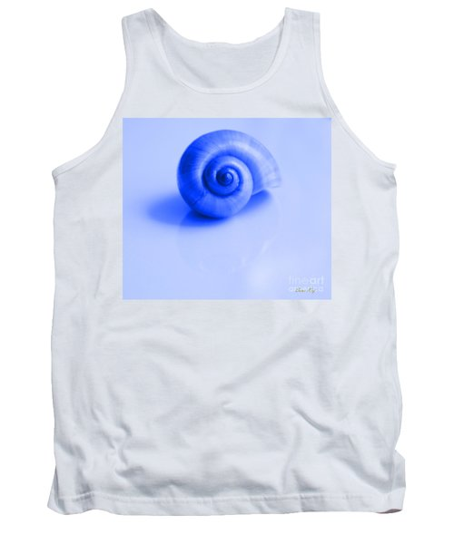 Blue Shell Tank Top