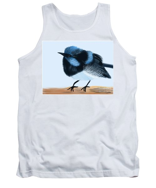 Blue Wren Beauty Tank Top