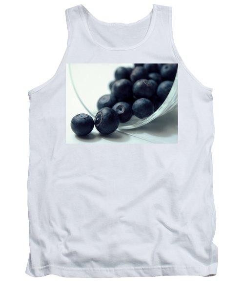 Blueberries Tank Top by Joseph Skompski