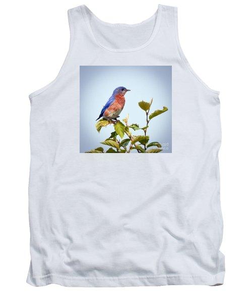 Bluebird On Top Tank Top by Kerri Farley