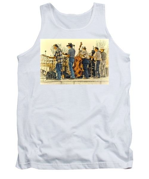 Bluegrass Evening Tank Top by Robert Frederick