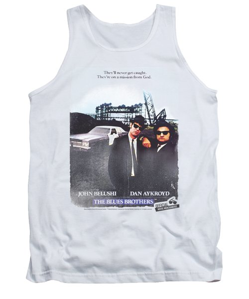 Blues Brothers - Distressed Poster Tank Top