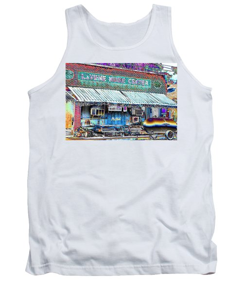 Blues Club In Clarksdale Tank Top
