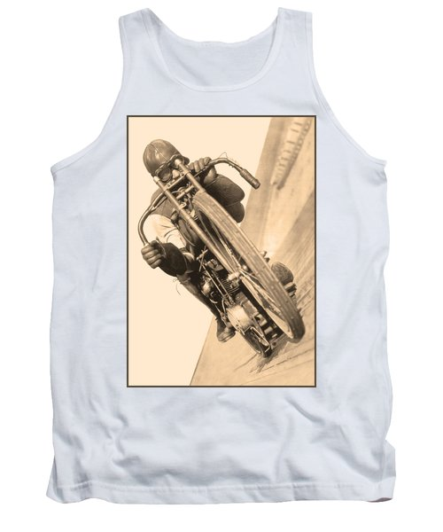 Board Track Racer Tank Top
